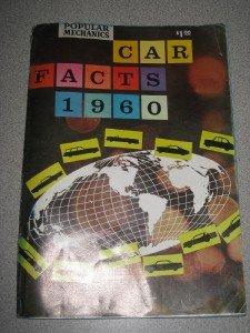 Vintage Popular Mechanics Car Facts 1960
