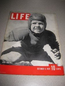 Life Magazine October 9, 1939 Kids' Football Dalai Lama