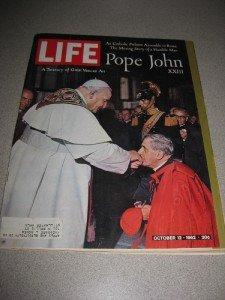 Life Magazine October 12, 1962 Pope John Vatican Art