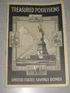 Vintage 1940 Booklet United States Savings Bonds