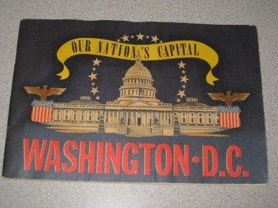 Vintage Booklet Washington DC Our Nation's Capital