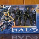 HALO 3 DELUXE BOXED SET Series 7 MASTER CHIEF & RED TEAM LEADER (NEW)