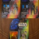"STAR WARS - Power of the Force - BOBA FETT(RED CARD), TIE-PILOT, LANDO ""SKIFF GUARD"" *NEW*"