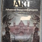 **SHIPPING FEE REFUNDED** The ART of the Advanced Dungeons & Dragons Fantasy Game (TSR) 1989