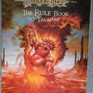 *SHIPPING FEE REFUNDED* Advanced Dungeons&Dragons-DragonLance The Rule Book to Taladas 1050xxx1902