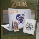 *SHIPPING WILL BE REFUNDED* Legend of Zelda Gadget Decals (21 Removable Stickers) 2017 NEW