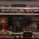 FUNKO POP - GHOSTBUSTERS 3-PACK [THE GATE KEEPER/ ZUUL/ KEY MASTER] BRAND NEW