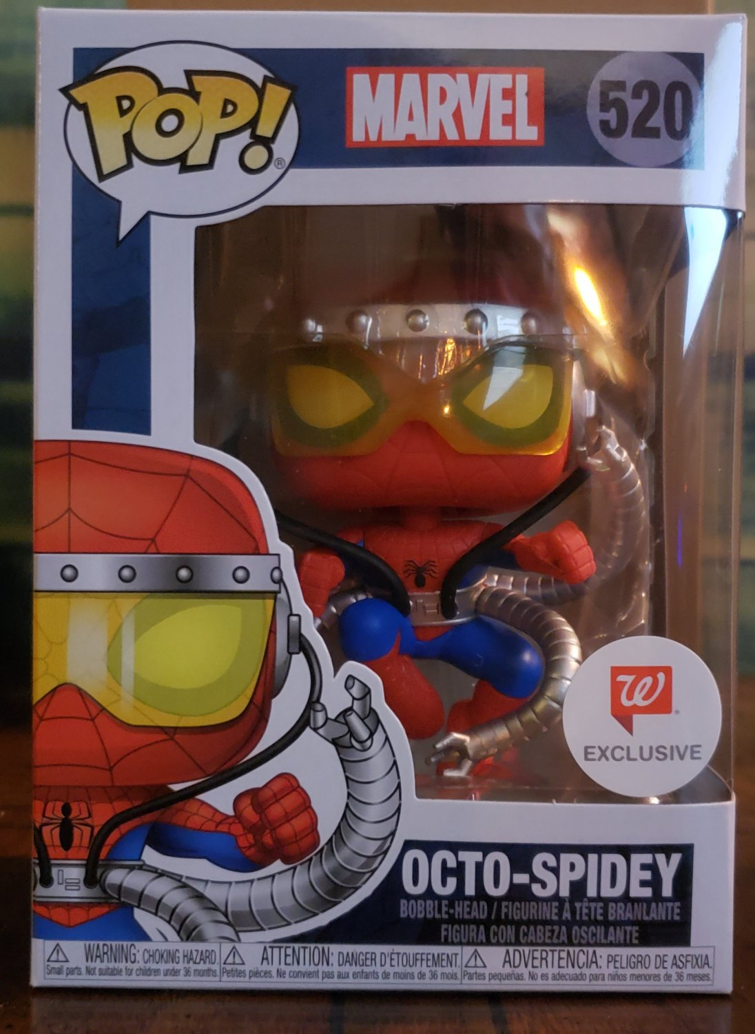 FUNKO POP - MARVEL - OCTO-SPIDEY #520 (80Years) NEW with POP POTECTOR