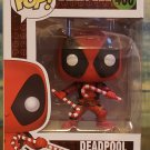 FUNKO POP - Marvel - DEADPOOL with Candy Canes #400
