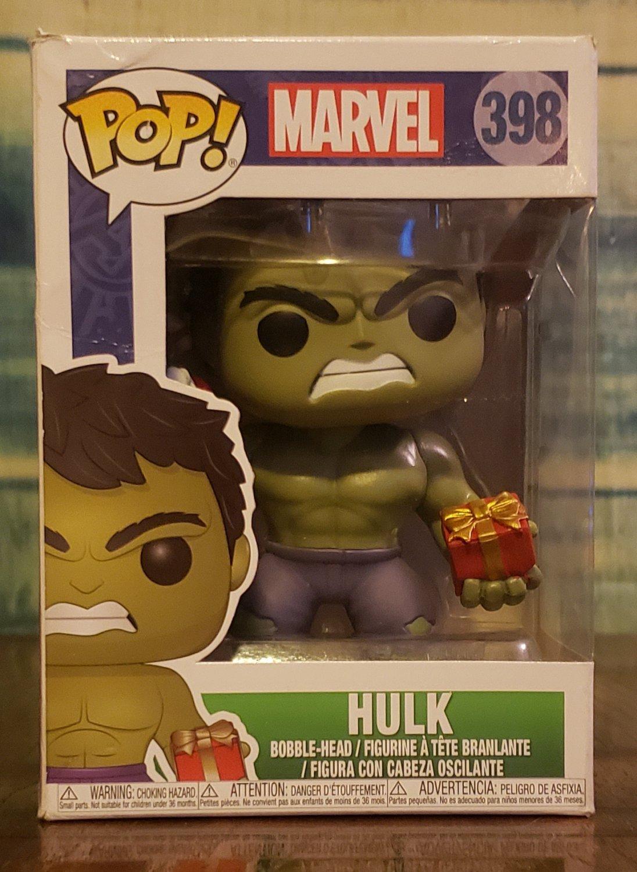 FUNKO POP - MARVEL - HULK with Presents - Festive #398