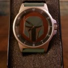 "Official Star Wars ""Mandolorian"" Boba Fett Exclusive Watch in Collectible Tin"
