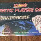 Kling - WINDPROOF Playing Cards - Play Upside Down )Excellent Condition)