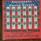 The American Collection - PRESIDENTIAL PUZZLE - 500pc  Jigsaw - Presidents 1-42 (NEW)