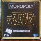 STAR WARS MONOPOLY - The Complete Saga Edition - 2018 Hasbro (NEW)