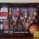 BIG BANG THEORY - Star Trek Cosplay Set - Entertainment Earth Exclusive - #1922/2288