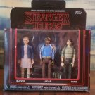 FUNKO - STRANGER THINGS - ELEVEN, LUCAS, MIKE - ACTION FIGURE 3 PACK NETFLIX