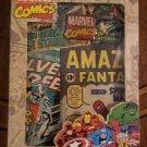 MARVEL COMICS - PADDED PASSPORT WALLET  - AMAZING FANTASY #15 UNCANNY X-MEN FREE SHIP/US
