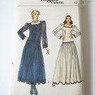 Vintage Vogue 9161 Misses Dropped Waist Dress - Sz 12
