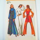Vintage Simplicity 9720 Misses' Vests and Jumpsuit - Sz 10