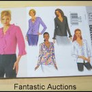 Butterick 3221 Misses' Ruffled Blouse - Size 6/8/10