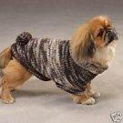 Shimmer Turtleneck Dog Sweater W/Poms Cocker Spaniel M