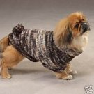 Shimmer Turtleneck Dog Sweater W/Poms Jack Russell S