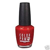 Candy Apple Red Dog Nail Polish Non Toxic Quick Dry