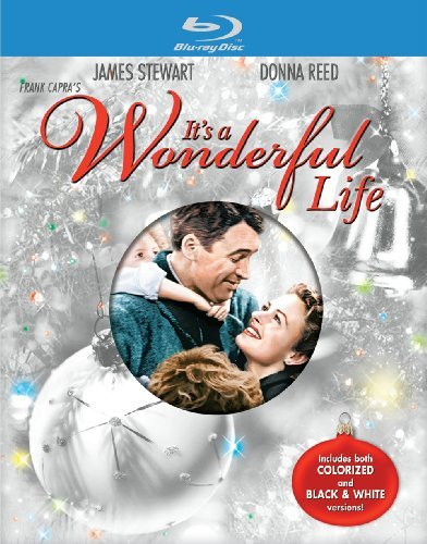 It's a Wonderful Life (Blu-ray, Colorized and B&W)