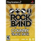 Rock Band Track Pack Country  (PlayStation 2, 2009)