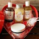Nina Bella Collection Organic Valentine's Day Spoil Me Gift Basket,