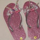 Pink Teen flip flops