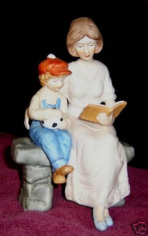 Paul Sebastian figurine - Mother and Child