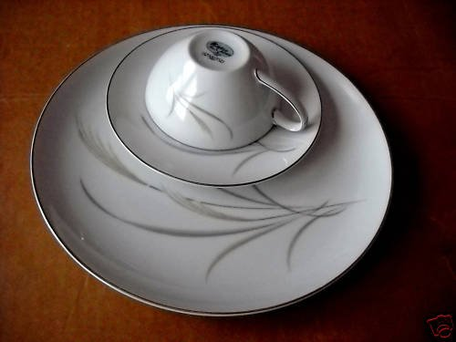 Mikasa Tahiti cups/saucers -# 8307 Jyoto (6 available)