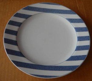 Christopher Stuart Capri blue dinner plate- Y0271- MINT