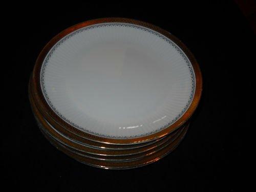 Jahre  BAREUTHER Waldsassen dinner plates- GOLD TRIM