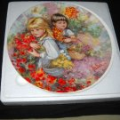 "WEDGWOOD/ VICKERS collector plate ""OUR GARDEN"""