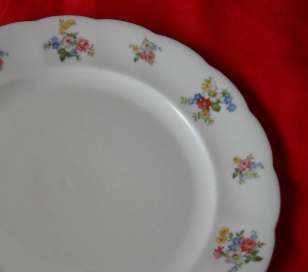 "Forest Bavaria  ""REMEMBRANCE""  Dinner plate- (6 AVAILABLE) GERMANY"