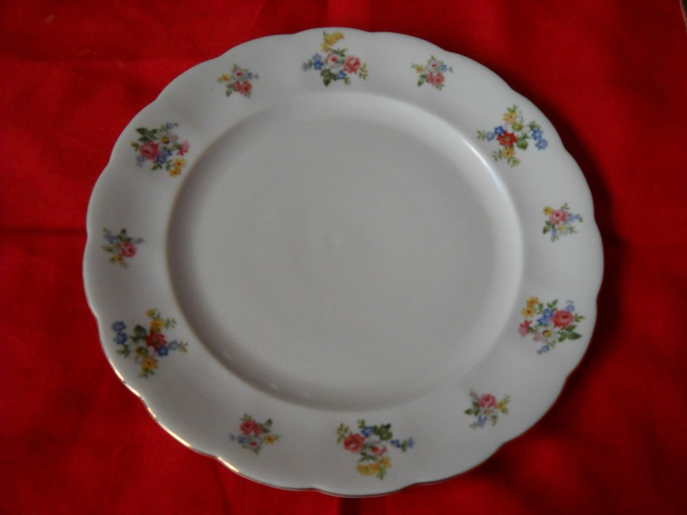 """Forest Bavaria  """"REMEMBRANCE""""  bread  plate-(4 AVAILABLE) GERMANY"""