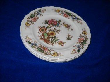 Grindley Lorraine salad  plates (Marlborough/Royal Petal) -6 available
