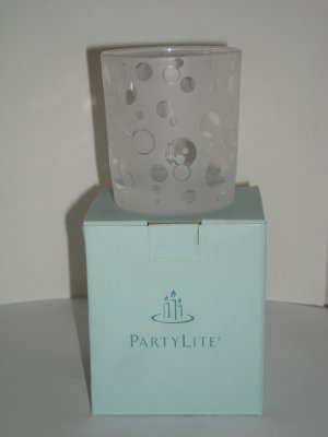 on hold Dotty Votive Holder (NIB) P8877