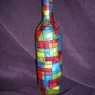 Wine Bottle Decorative Lamps Primary Colors