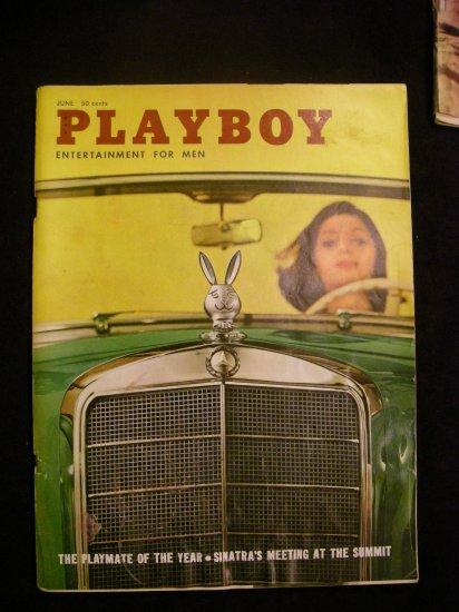 VINTAGE Playboy Magazine June 1960 GC