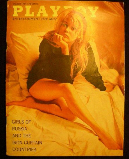 SOLD Vintage Playboy Magazine March 1964