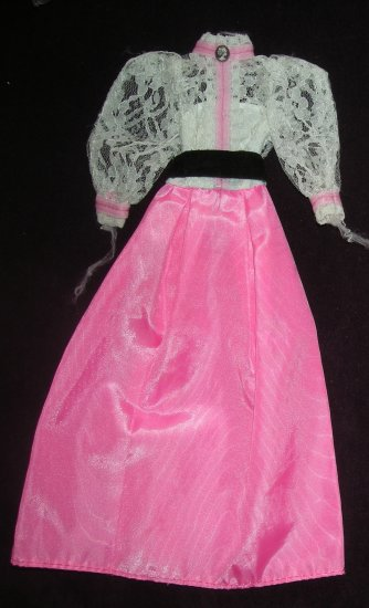 Angel Face Doll Outfit #5640 Vintage 1982 (Barbie clothes clothing dress)