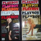 Playboy Magazine Year 1997 ALL but April (Farrah, Jenny, Pamela)