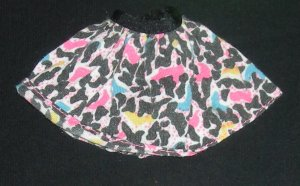 Barbie Clothes Animal Print Skirt Caring Careers Fashion Set 1993 (Barbie Clothes, Fashion, Teacher)