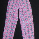 Barbie Clothes Pants Pink with White Daisies