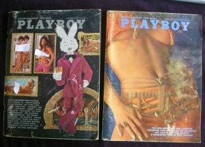 Vintage Playboy Magazine Year 1971  (All but November)