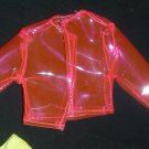Barbie Clothes Jacket Plastic Pink (barbie fashions, doll clothes, outfits)