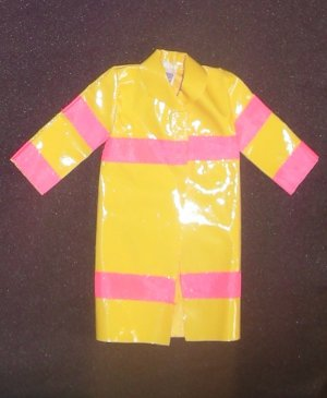 Barbie Clothes Fire Fighter Coat 1993 Caring Careers (barbie fashions, doll clothes, outfits)